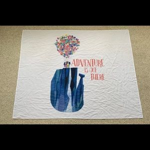 """Disney's """"Adventure is Out There"""" UP Tapestry"""